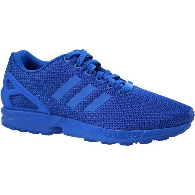 Adidas Zx Flux S32280 Homme Baskets Bleu pas cher Achat