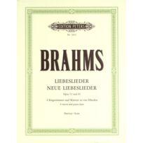 Edition Peters - Partitions Classique Brahms Johannes - Liebeslieder And New Liebeslieder Waltzes Quartets, In 3 Volumes, Vol.2 - Mixed Ch Choeur Et Ensemble Vocal