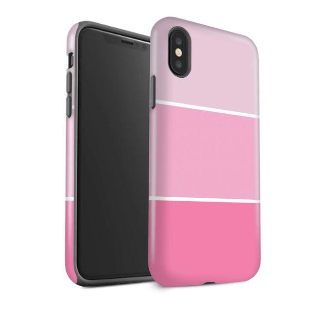 coque iphone xs couleur pastel