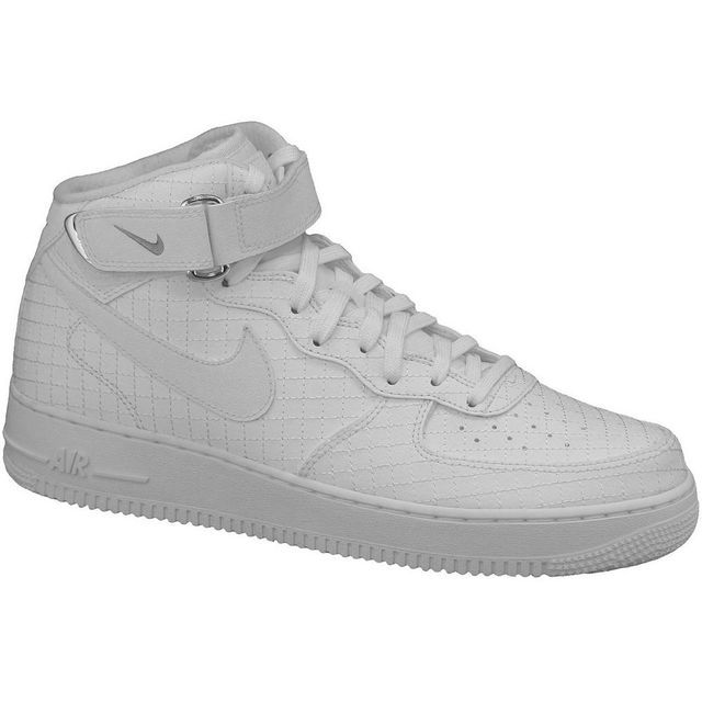 differently 9d202 bd486 Nike - Nike Air Force 1 Mid  07 Lv8 804609-100 Blanc