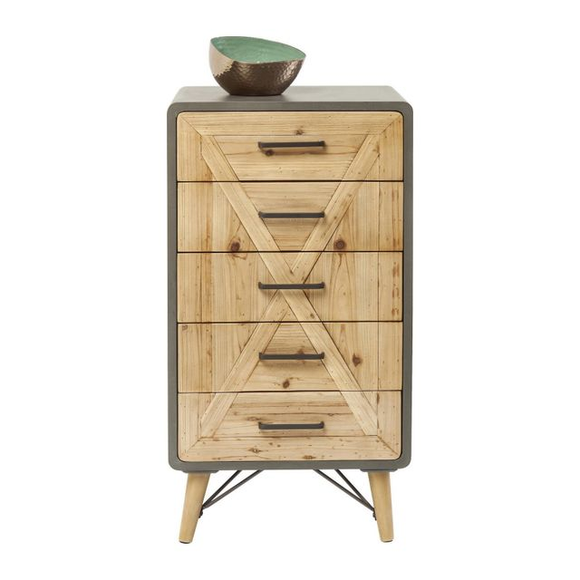 Karedesign Commode haute X Factory 5 tiroirs Kare Design