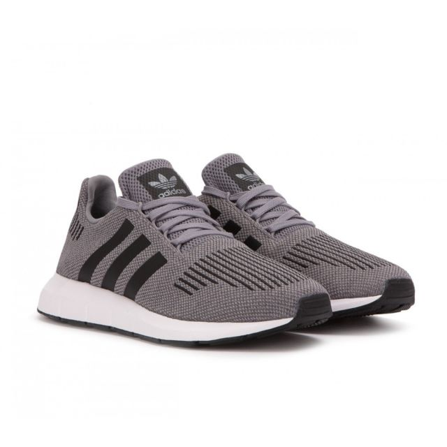 Adidas originals - Basket mode Swift Run - Cq2115 Gris - pas cher Achat   Vente  Baskets homme - RueDuCommerce 74e91fba8fa6