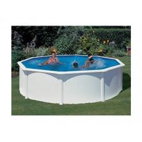 GRE POOLS - Kit piscine hors sol acier ronde BORA BORA