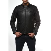 Antonio Garatto - Blouson en cuir 642 - Noir