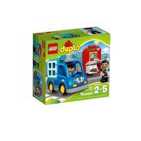 Lego - DUPLO® Ma ville - La patrouille de police - 10809