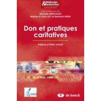 De Boeck Superieur - Don et pratiques caritatives