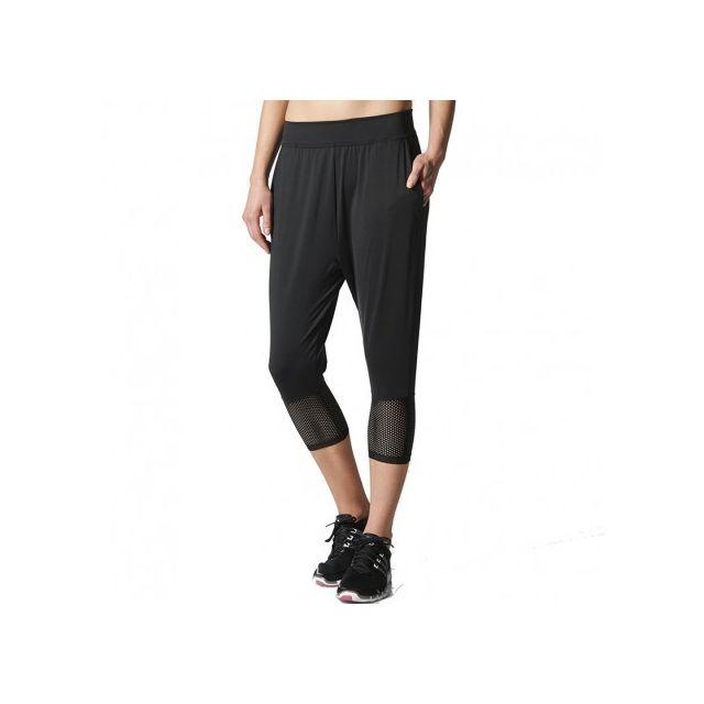 Adidas originals Pantalon 34 Entrainement Noir Femme