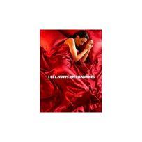1001 Nuits Enchantees - Parure de lit satin rouge 6 pcs