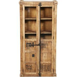 privatefloor armoire en bois de manguier de style industriel bois naturel pas cher achat. Black Bedroom Furniture Sets. Home Design Ideas