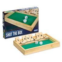 Gibsons - Traditional Shut The Box - Jeux De SociÉTÉ