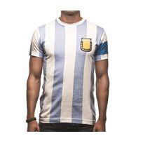 Copa - T-shirt Rétro Argentine Capitano 10 Bleu