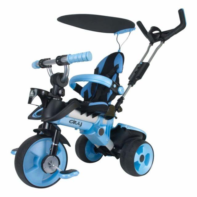 Injusa Tricycle City bleu 3261