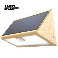 alpexe lampe solaire sans fil 46 led 600 lumens eclairage extrieur impermable avec 4 - Eclairage Led Exterieur Pour Terrasse