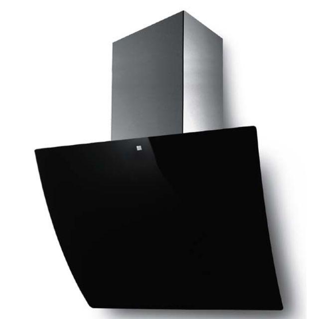 roblin hotte d corative inclin e 80cm 590m3 h noir 5038010 achat hotte d corative. Black Bedroom Furniture Sets. Home Design Ideas