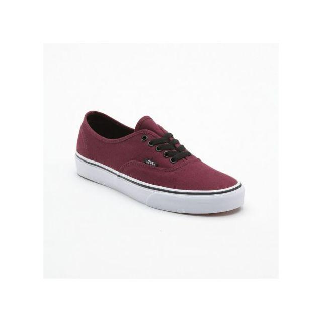 chaussures vans bordeaux