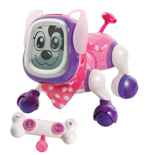 Chien Robot Kididoggy Rose 189705