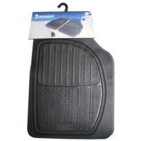 Michelin - 2 tapis avant caoutchouc à sillons