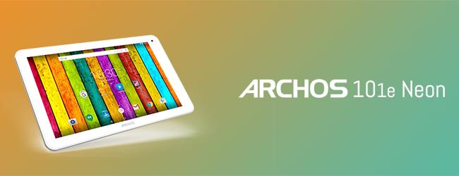 archos 101e neon wifi blanche microsdhc 32 go. Black Bedroom Furniture Sets. Home Design Ideas