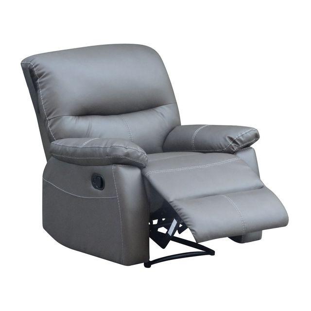 habitat et jardin fauteuil relax lincoln taupe pas cher achat vente fauteuils. Black Bedroom Furniture Sets. Home Design Ideas