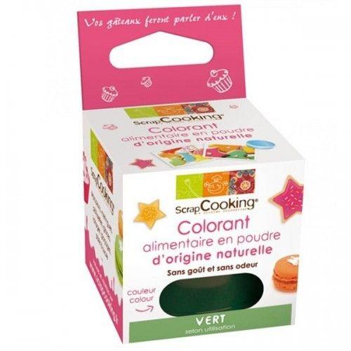 Scrapcooking Colorant alimentaire Vert