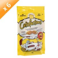 Catisfactions - Catisfaction Fromage 60g -x6