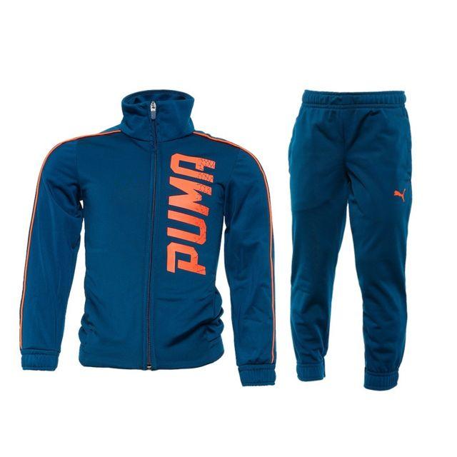 lowest discount for whole family on sale Survêtement bleu Garçon Multicouleur 16A