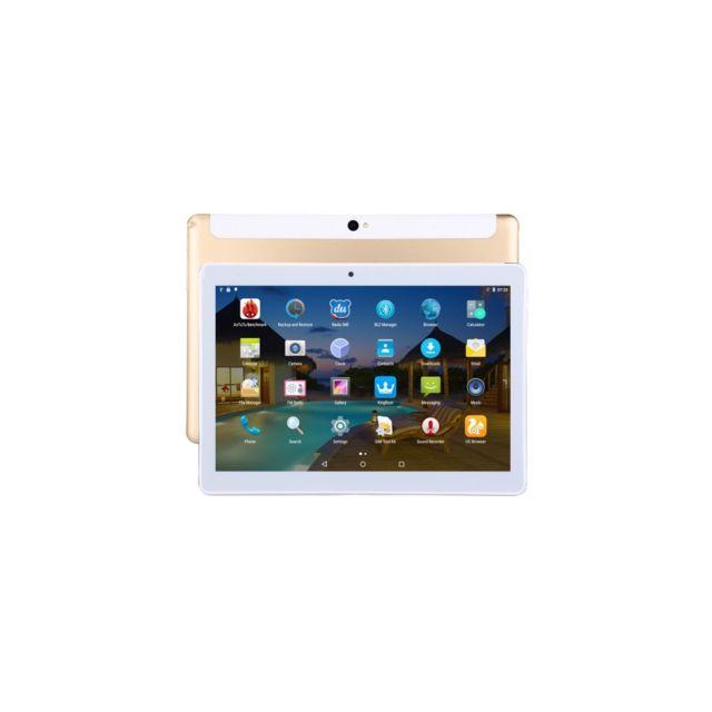 Auto-hightech Tablette appel téléphonique 3G, 10.1 Pouces, 2Go+32Go, Android 7.0 Octa Core 1.3GHz, double Sim, prise en charge de Gps