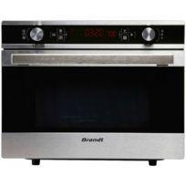 Brandt - four micro-ondes + grill 36l 900w inox - ce3620x