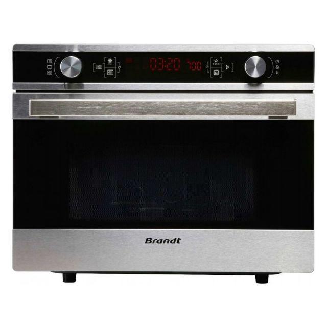 Brandt four micro-ondes + grill 36l 900w inox - ce3620x