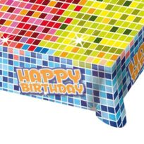 Falksson - 380183 - Tischdecke - Happy Crazy Birthday - 180 X 130 Cm