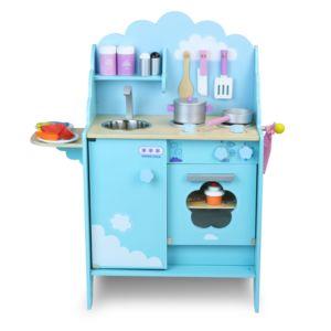 alin a cuisine dans les nuages grande cuisine en bois pour enfant forme nuage pas cher achat. Black Bedroom Furniture Sets. Home Design Ideas