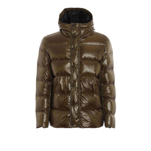 Hogan Homme Kjm36392050PVZV600 Vert Polyester Doudoune