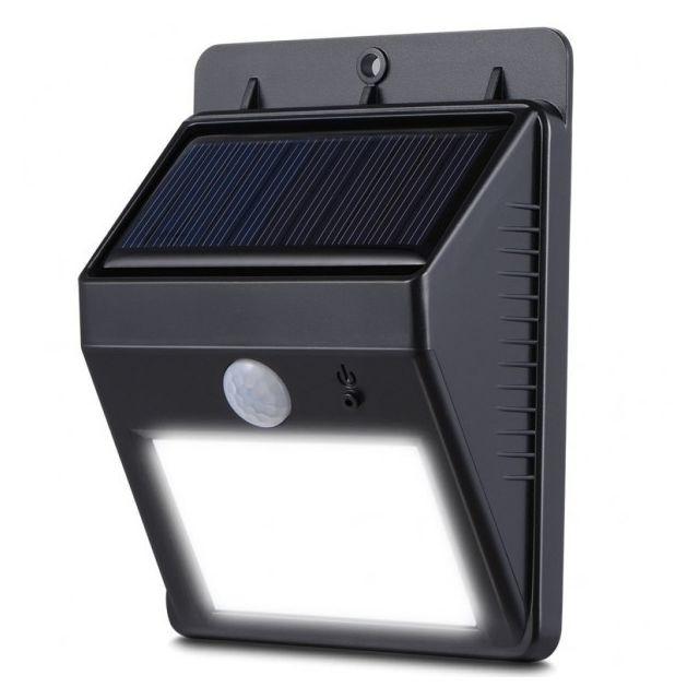 alpexe lampe solaire ext rieur sans fil tanche ip64 8 leds lumineuses eclairage mural. Black Bedroom Furniture Sets. Home Design Ideas