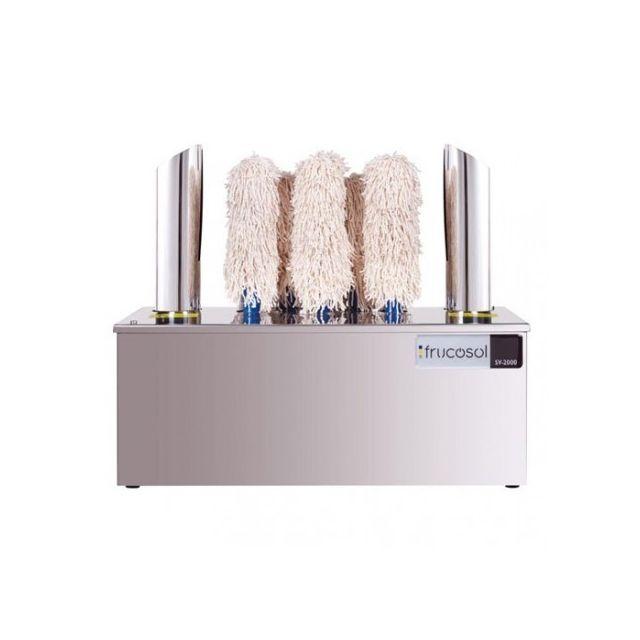 Frucosol Machine à essuyer et polir verres - 400 verres / heure