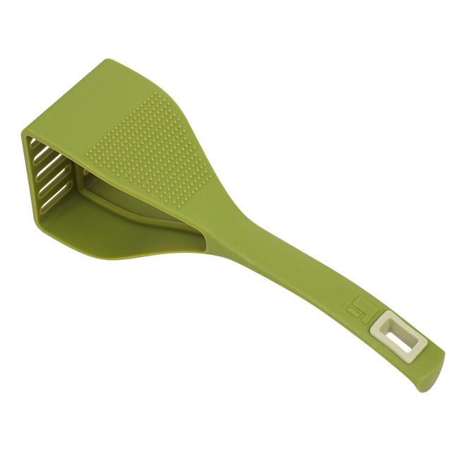 Bergner Duo tool - Presse-Purée nylon olive 24.5x7 cm