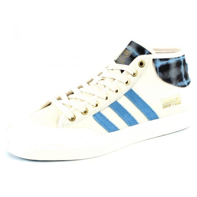 Adidas originals Baskets Matchcourt Mid X Snoop X G Blanc