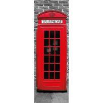 London Design - Affiche de porte Londres Phonebox