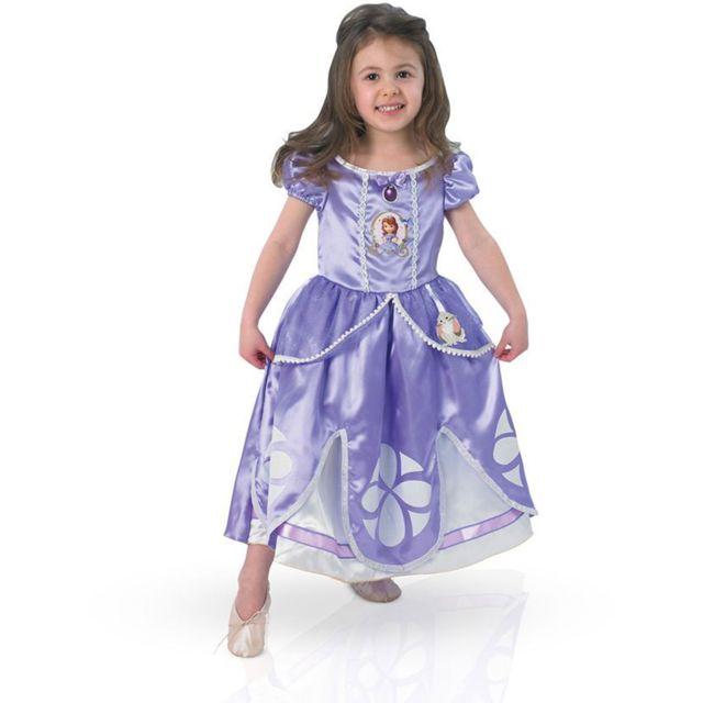 Rubies Boite Vitrine - Déguisement Princesse Sofia - Disney2/4 ans 86 à 102 cm