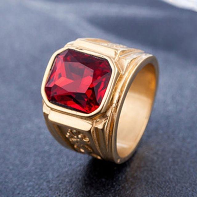 taille 8 bague homme