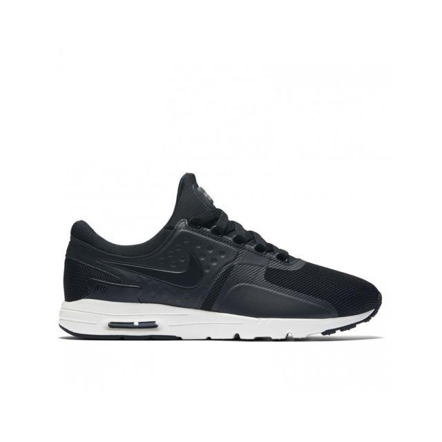 Nike - Air Max Zero - 857661-002 - Age - Adulte, Couleur - Noir, Genre - Femme, Taille - 38,5 38 1/2 - pas cher Achat / Vente Baskets femme - RueDuCommerce