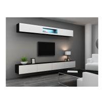 Meuble tv suspendu achat meuble tv suspendu pas cher for Meuble tv rue du commerce