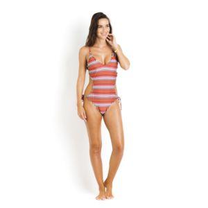 Maillot De Bain Une Pièce Trikini Salinas Multicolore Rayé - Florida Pré Commande Pas Cher uAW5LzH7