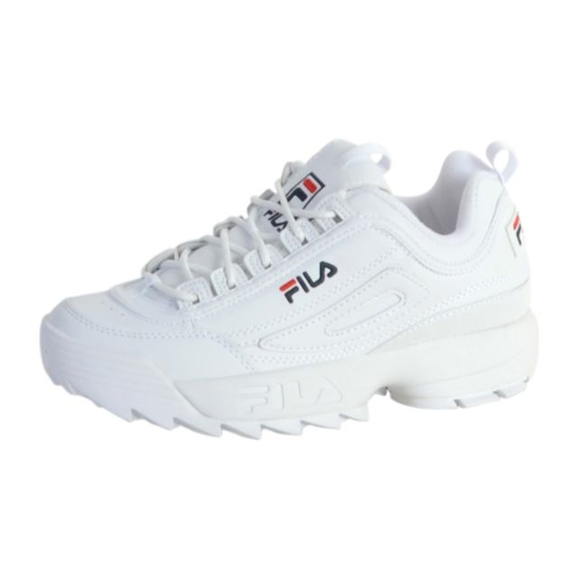 Basket Cher Vente Disruptor Blanc Pas Achat Fila Low White aAwBqad