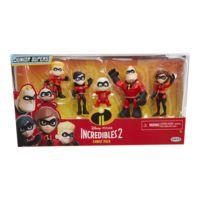 JAKKS PACIFIC - Pack de 5 figurines famille Indestructible - 76734-7L