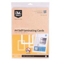 3L - Paquet de 10 pochettes de plastification A4