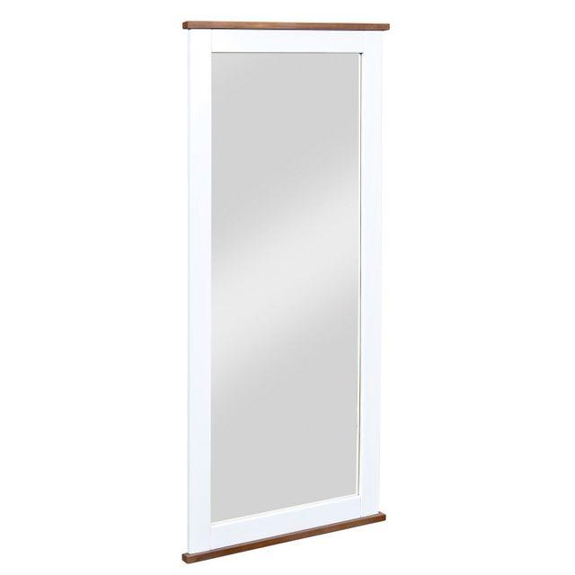 Comforium Miroir blanc - 145x64x3,5 cm