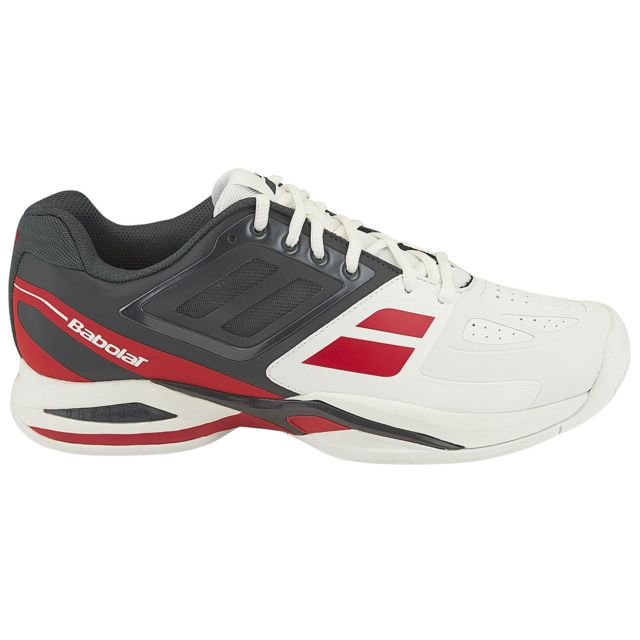Homme 46 Taille Prop Pas Chaussure Team Blanc Ac Babolat yNv0Owm8n