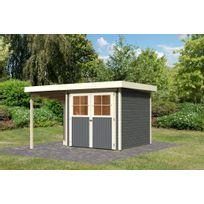 appentis bois kit achat appentis bois kit pas cher soldes rueducommerce. Black Bedroom Furniture Sets. Home Design Ideas