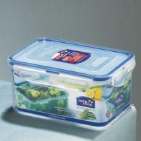 Lock & Lock - Boîte de conservation hermétique rectangulaire en plastique avec couvercle Haute