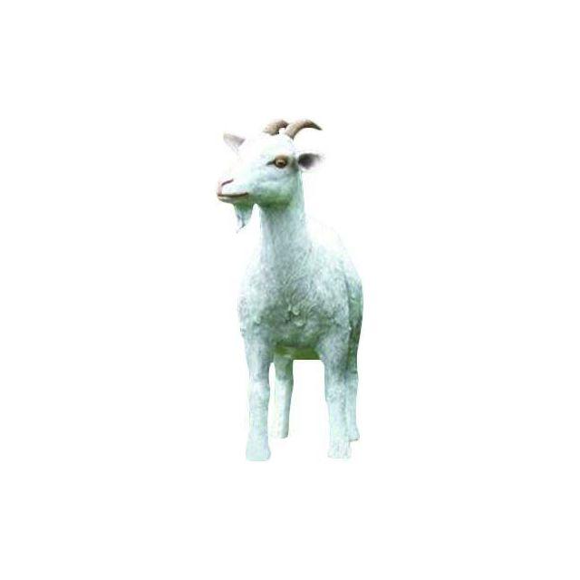 TEXARTES Chèvre adulte en résine 80 cm